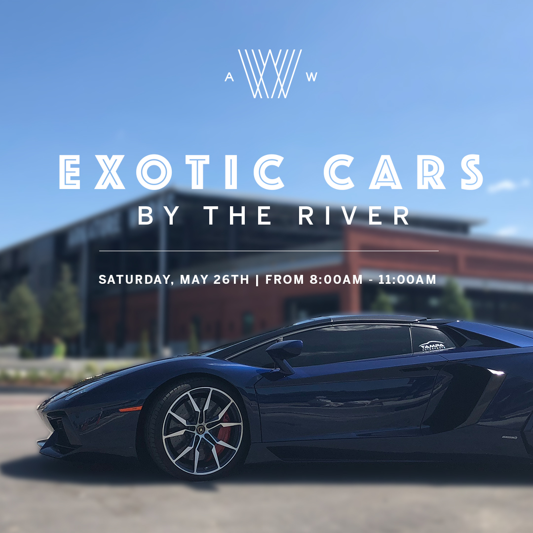 Exotic Cars by the River - Armature Works